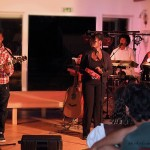 Jonzac, le 9 août : Tuintim, Adrienne, Myriam et Alexandre