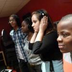 Alexandre, Adrienne, Myriam et Grace