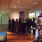 Après la conférence sur les Mangas qui a captivé les teenagers: visite du Musée Guimet des Arts Asiatiques (en médaillon, en bas à gauche)
