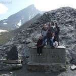 À 2744 m d'altitude : la frontière franco-italienne