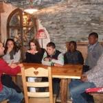 """Pontechianale (Italie) : dans """"notre"""" petit restaurant souterrain"""