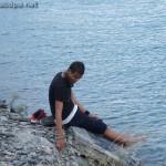 Lac de Serre-Ponçon : Alexandre, le penseur solitaire...