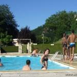 """Défilé de """"beaux gosses""""... à la piscine du VVF de St Léger les Mélèzes"""