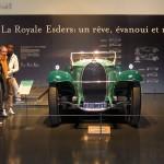 Cité de l'Automobile à Mulhouse : l'équipe Teenager devant le rêve retrouvé, la Bugatti Royale Esders