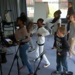 Obernai : cours de danse/chorégraphie pour les stagiaires, sous la direction d'Adrienne