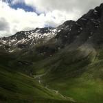 Au col d'Aniel : vue sur le versant italien