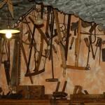 échoppe d'artisan à Ponte Chianale (Italie)