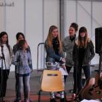 L'équipe des stagiaires à Arnac