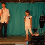 Brandon et Inès chantent « dis pourquoi »