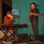 Jean-Luc et Arthur: Battle Harmonica et Saxophone, dans l'instrumental de «Daddy' Blues»