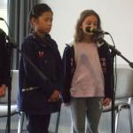 Les 2 benjamines du stage : Aurore et Emma