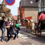 Quand Alexandre fait la circulation, à Obernai...