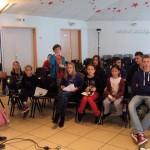 Mise en place d'un spectacle à Obernai
