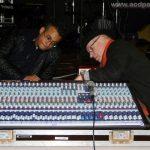 Réglage de la table de mixage : Alexandre et Jean-Luc