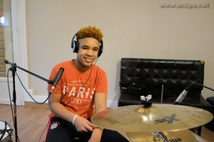Journées en Studio : Isaïa, le batteur nouveau