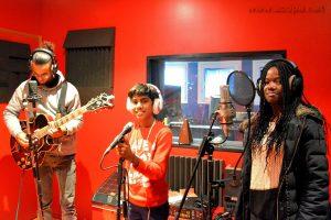 Journées en Studio : Alexandre, Abimaniou et Loojha
