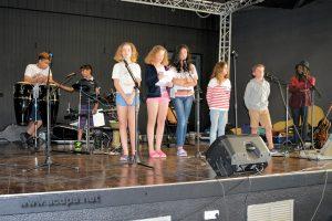 L'équipe au complet des Teenagers et stagiaires à Oléron