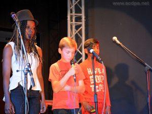 Loojiah, Alexandre et Abimaniou : joli trio pour «Les Pierrots de Noël»
