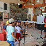 Stage à St Bonnet : Yalnis, 16 ans, dirige ses petits frères