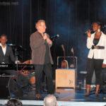 Tuintim, seul au piano, et le duo Jean-Luc et Adrienne