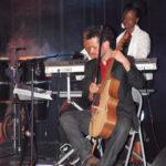(Tuintim), Jérémy (guitarviol) et Adrienne