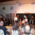 Xavier et Philippe aux guitares, Michael, (Jamescy), Marianne, Timothé, Charlotte, Sylvain, Athis à la batterie