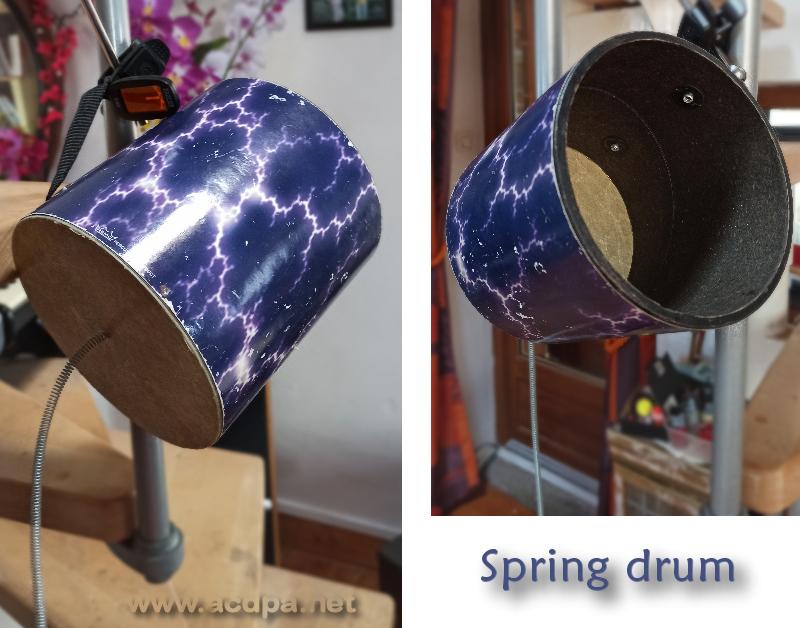 Spring drum